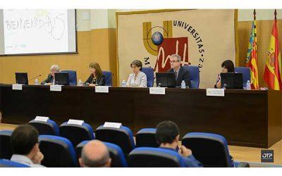Presentación en la UMH de la Cátedra para potenciar el estudio y la investigación en prevención de riesgos laborales
